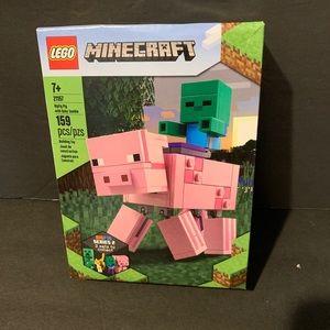 LEGO Minecraft Pig BigFig